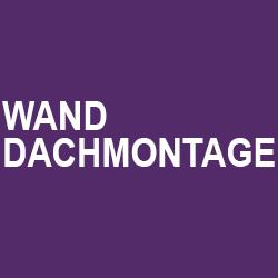 Wand / Dachmontage